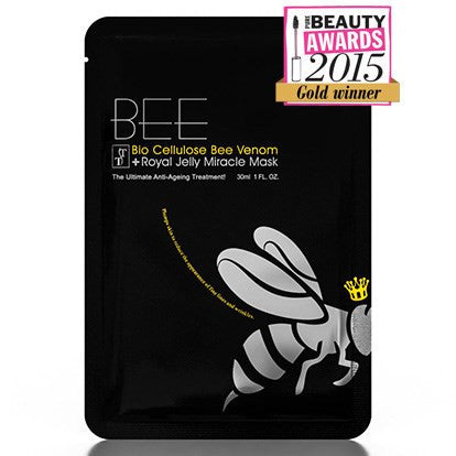 BIO CELLULOSE BEE VENOM + ROYAL JELLY MIRACLE MASK