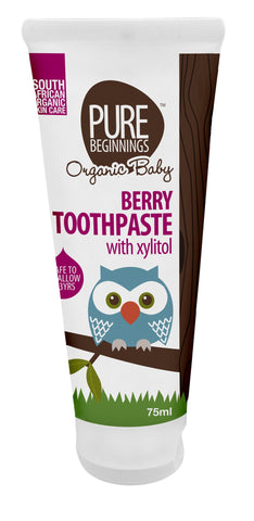 Berry Toothpaste With Xylitol