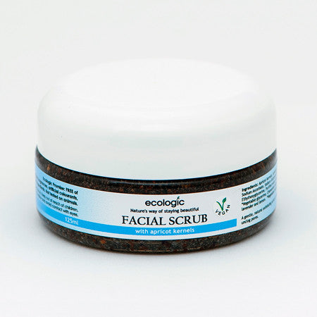 Facial Scrub With Apricot Kernel