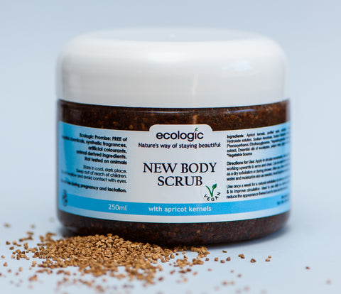 Body Scrub With Apricot Kernel