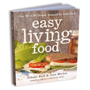 Easy Living Food Book - Print Edition