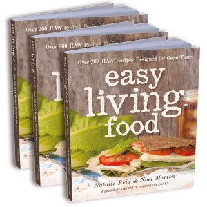 Easy Living Food Book - Print Edition (Gift Pack)