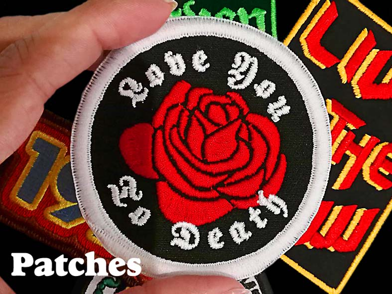 Patches by Hallow Collective