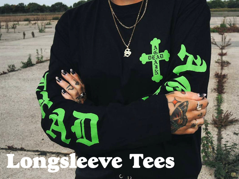 Longsleeve Tees by Hallow Collective