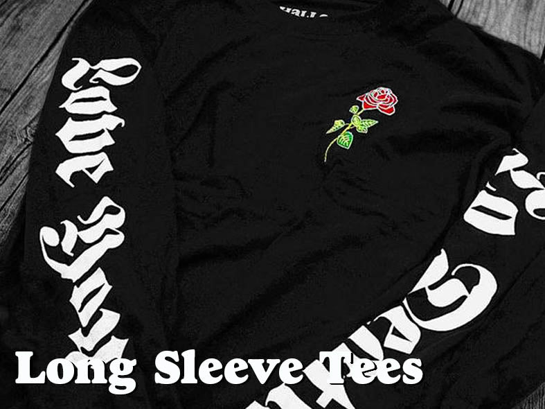 Long Sleeve Tees by Hallow Collective
