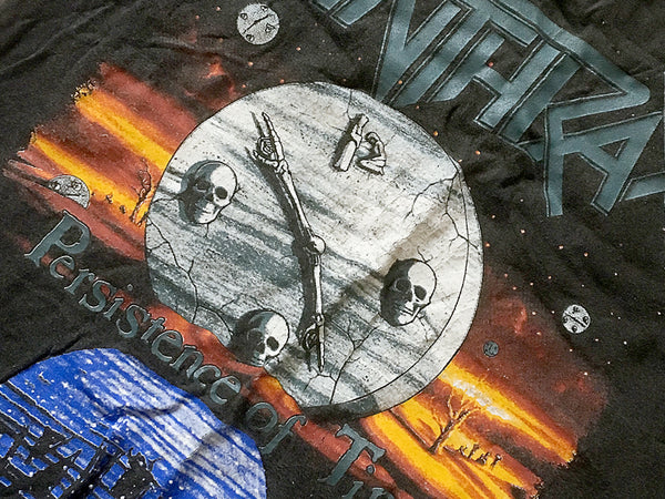 Anthrax - Persistence of Touring Tee 1990 Front Close Up