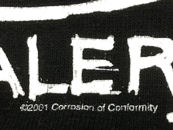 Corrosion of Conformity - America's Volume Dealer Tee Back Date Close Up
