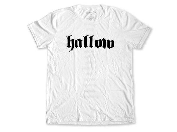 Hallow Collective - Genres Tee White Front