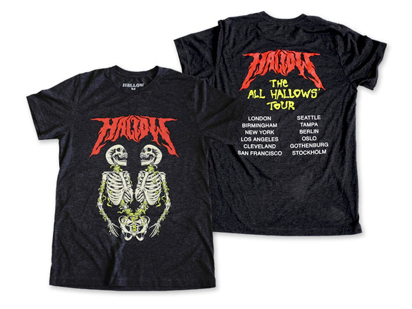 Hallow Collective - All Hallows' Tour Tee Front and Back