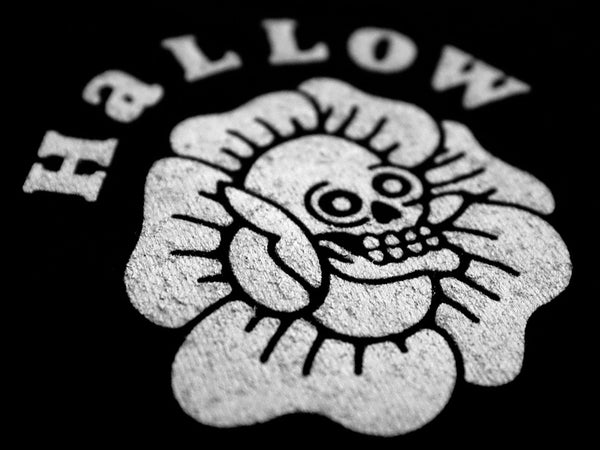 Hallow Collective - You Can't Hide From Love Tee Front Detail