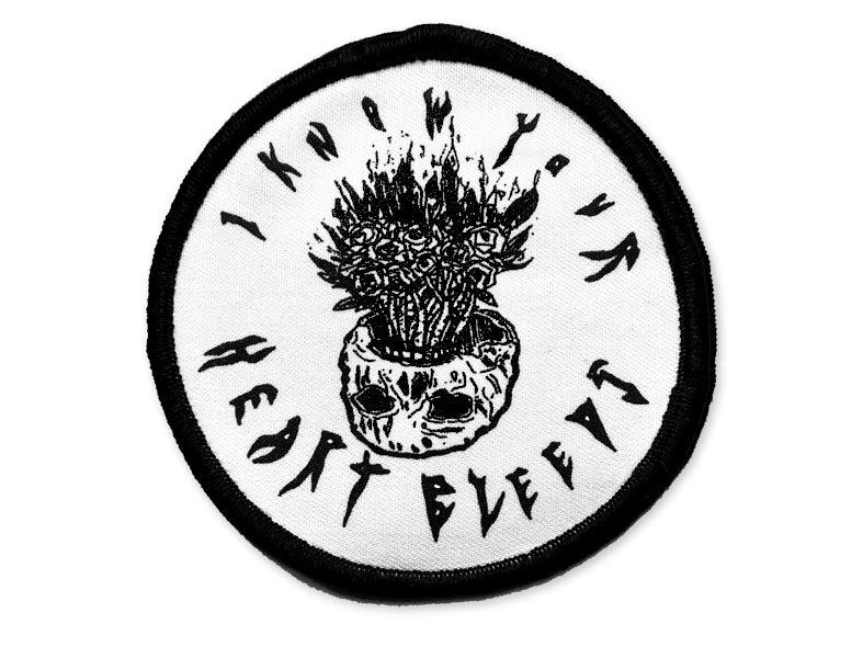 Hallow Collective - I Know Your Heart Bleeds Patch