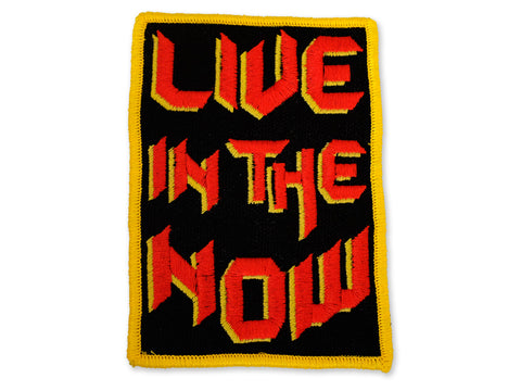 Hallow Collective - Live In The Now Embroidered Patch