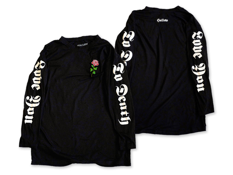 Hallow Collective - Love You To Death Long Sleeve Front and Back