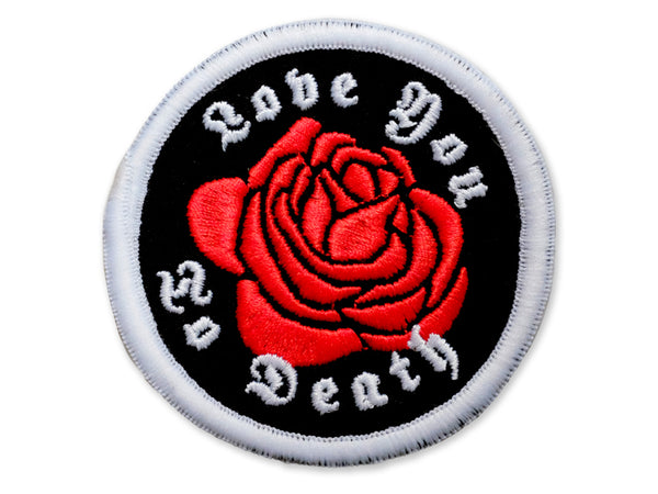 Hallow Collective - Love You To Death Circular Embroidered Patch