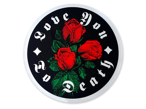 Hallow Collective - Love You To Death Printed Back Patch