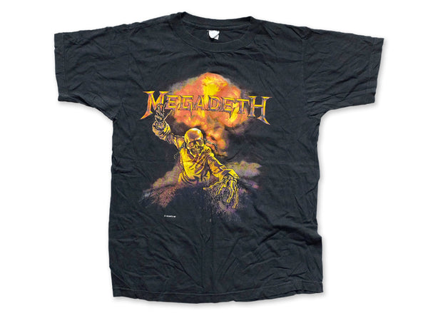 Megadeth - Definition Tee 1987 Front