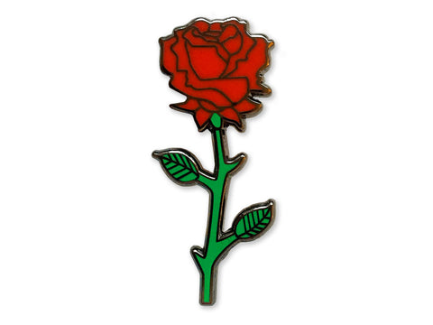 Hallow Collective - The Red Rose Pin