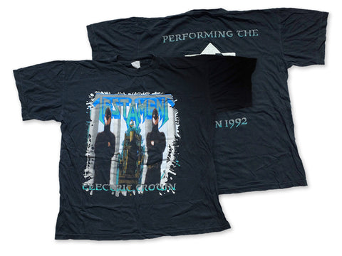 Testament - Electric Crown Tee 1992 Front and Back