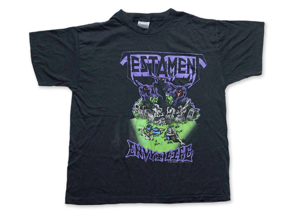 Testament - Envy Life Tee 1990 Front