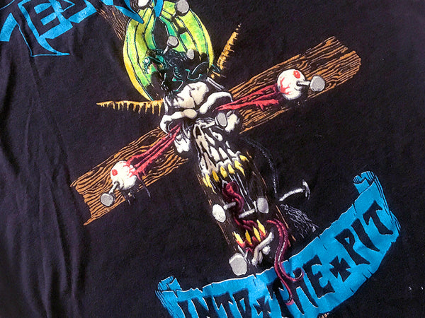 Testament - Into The Pit Tour Tee 1989 (S)