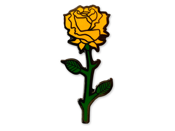 Hallow Collective - Yellow Rose Enamel Pin