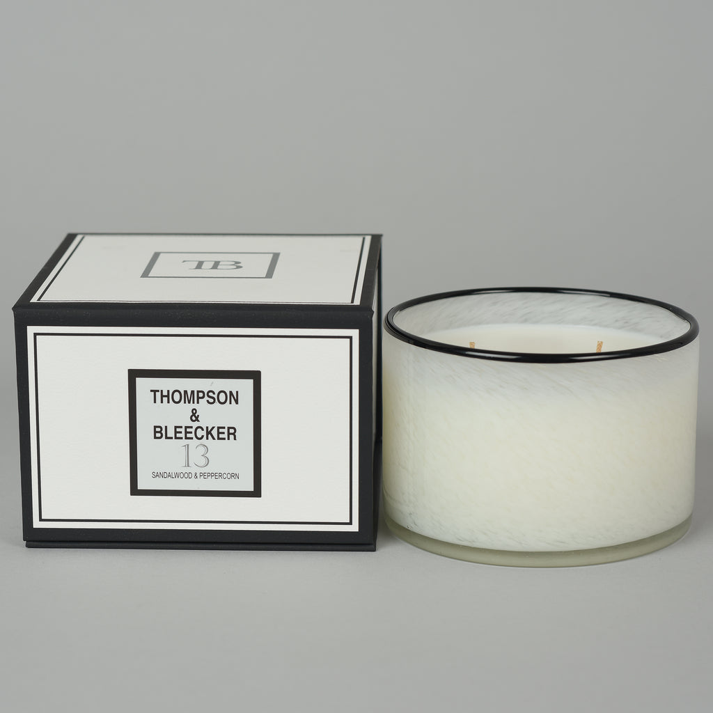 #13 SANDALWOOD PEPPERCORN TRIPLE WICK