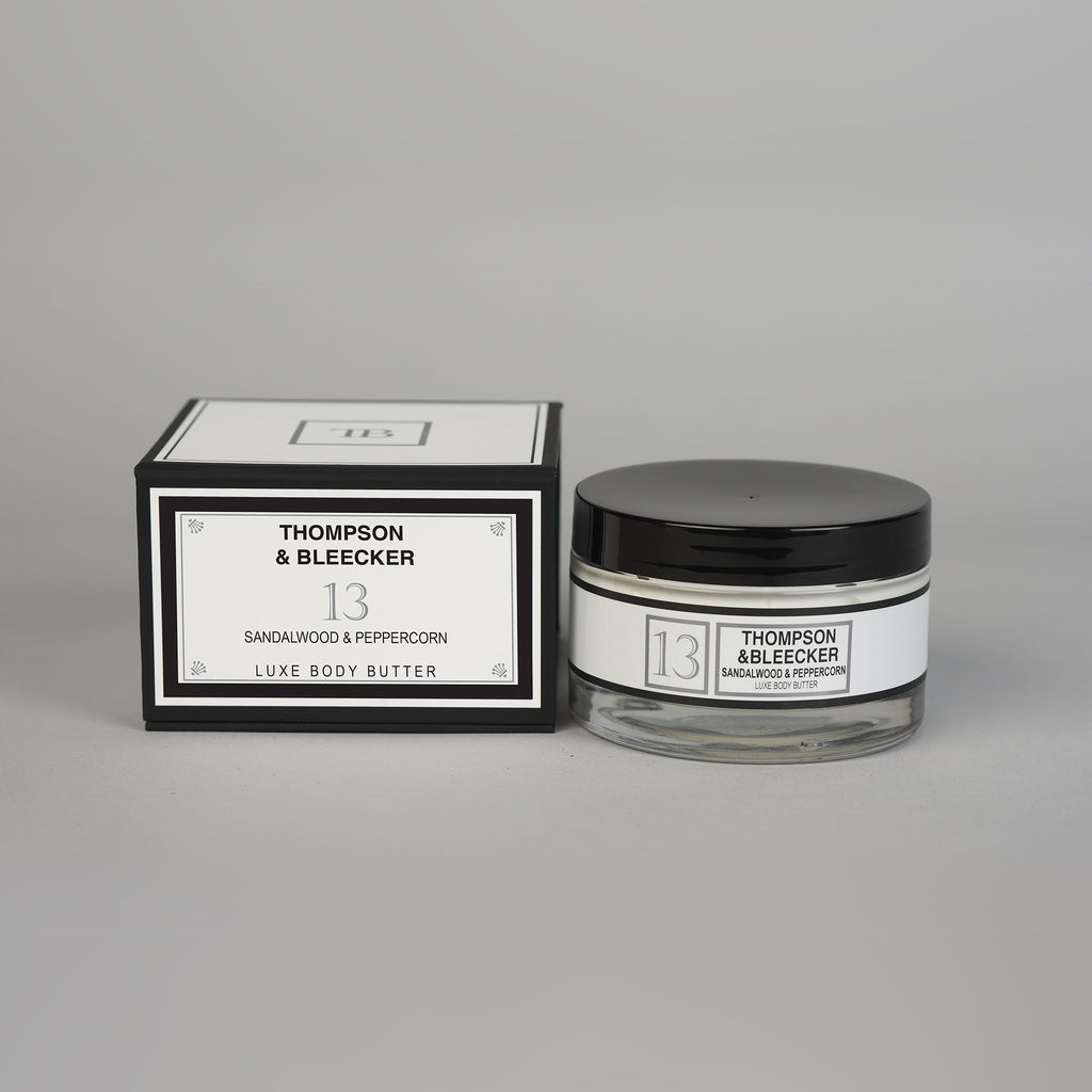 #13 SANDALWOOD PEPPERCORN LUXE BODY BUTTER