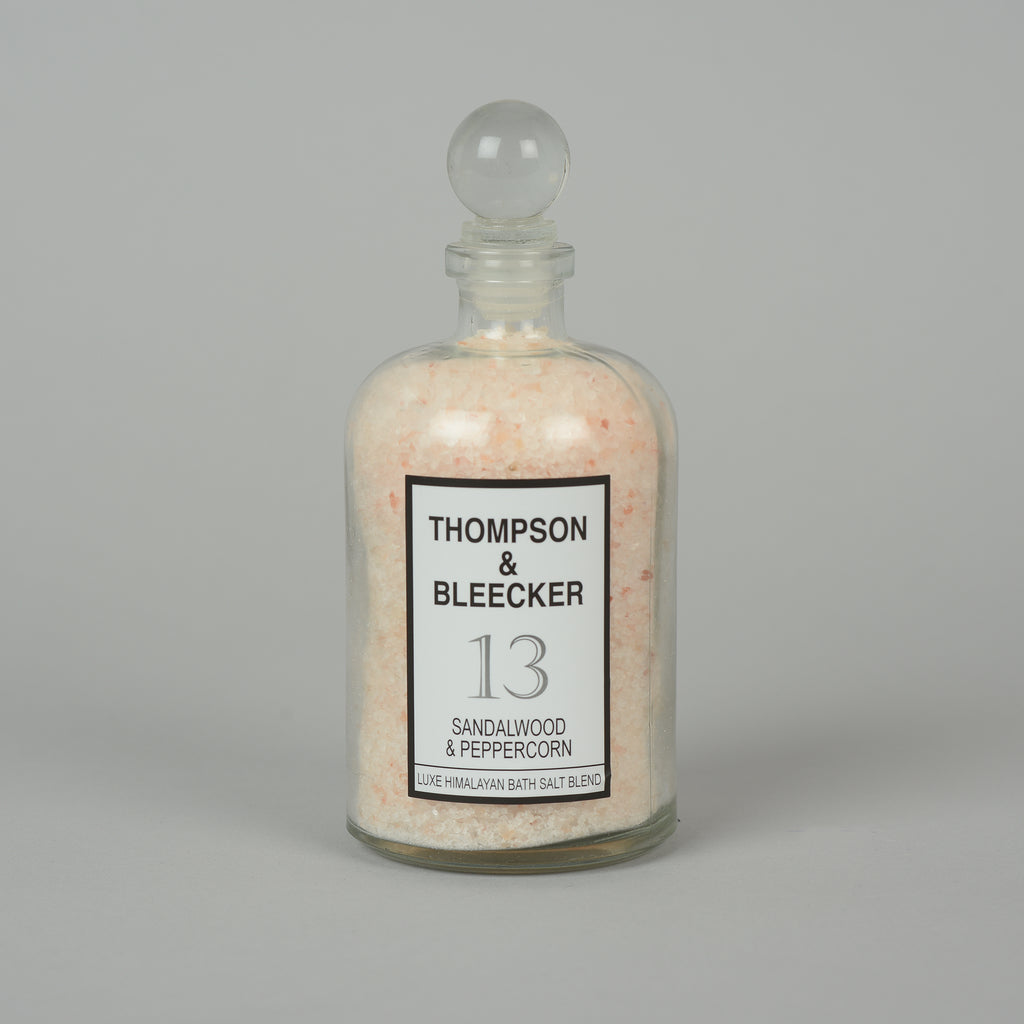#13 SANDALWOOD PEPPERCORN BATH SALT JAR