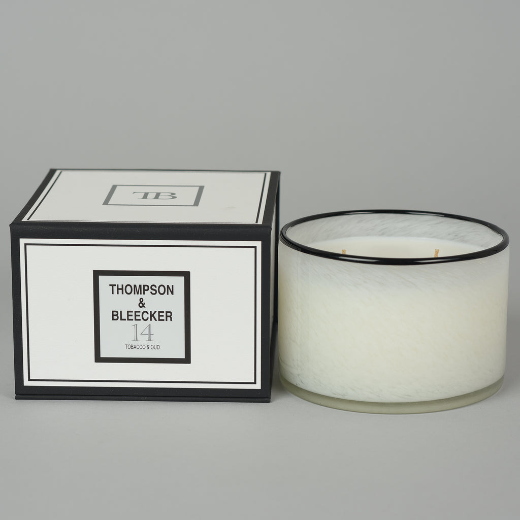#14 OUD WOOD THREE WICK CANDLE