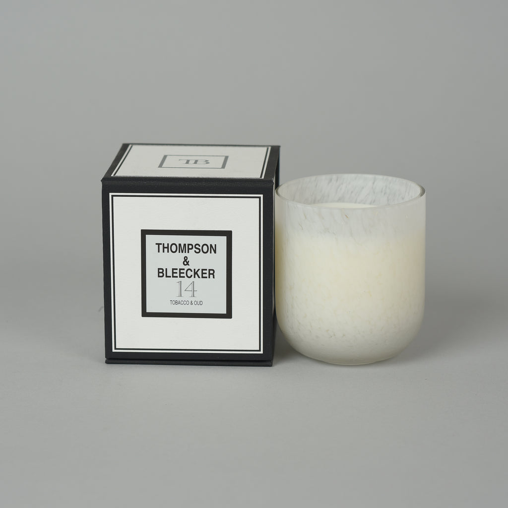 #14 OUD WOOD GRAND SINGLE WICK CANDLE