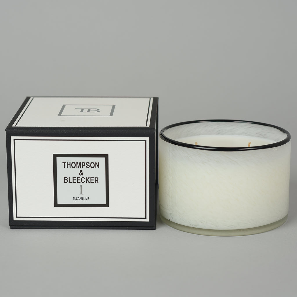 #1 TUSCAN LIME THREE WICK CANDLE
