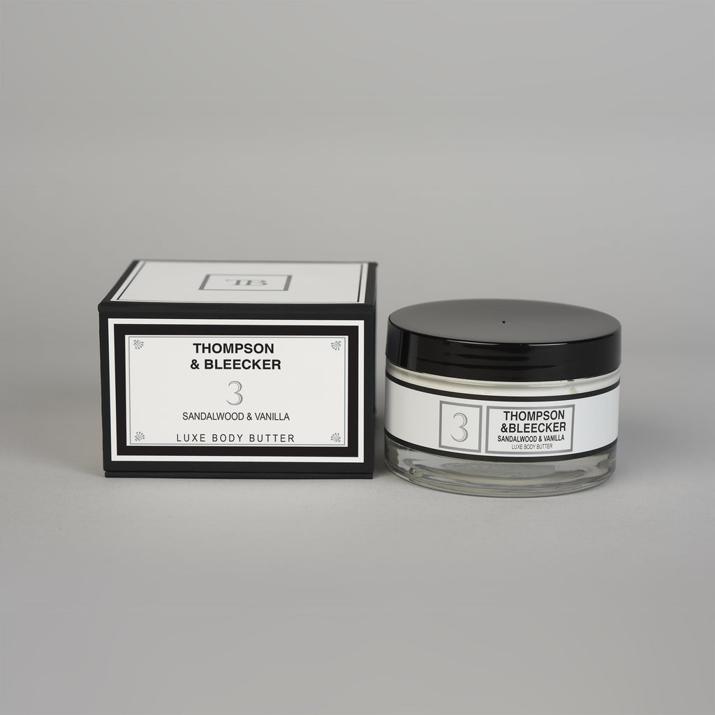 #3 SANDALWOOD VANILLA LUXE BODY BUTTER