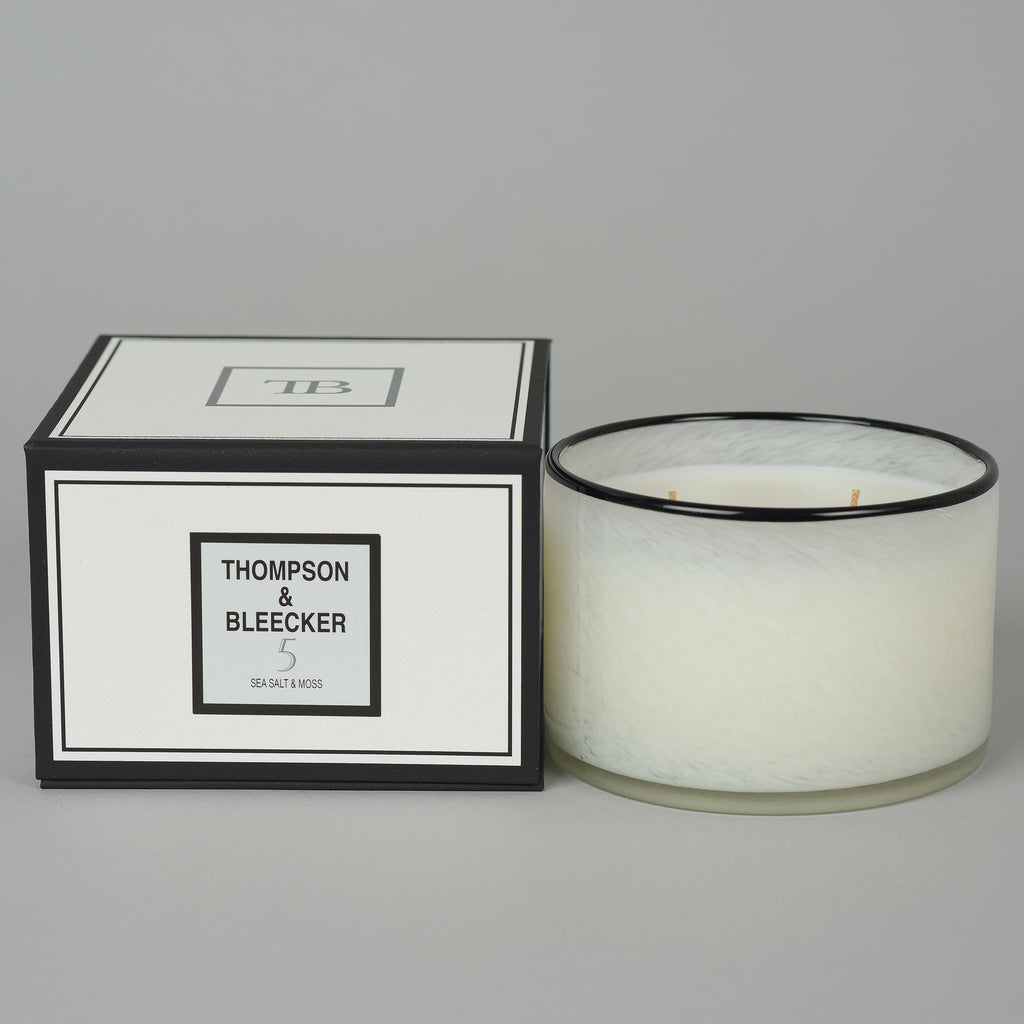 #5 SEA SALT & MOSS THREE WICK CANDLE