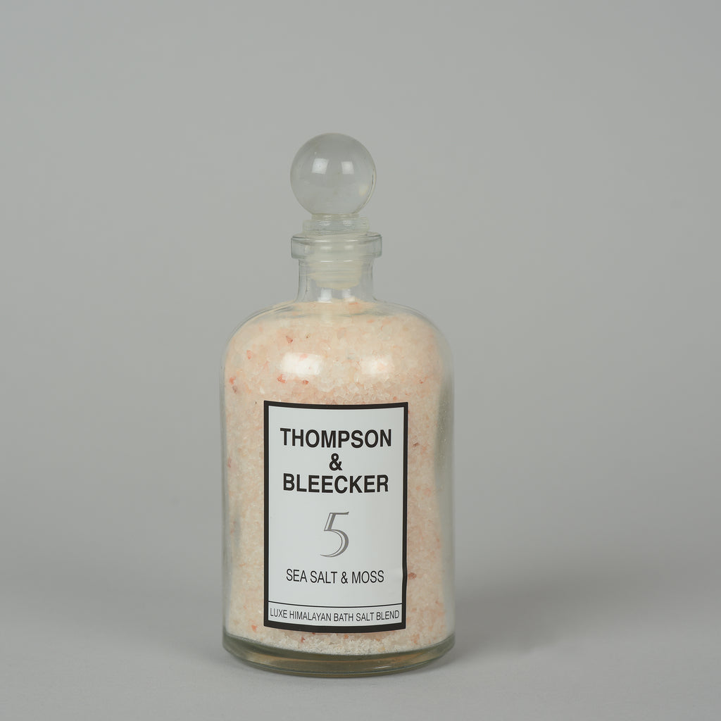 #5 SEA SALT & MOSS LUXE BATH SALT JAR