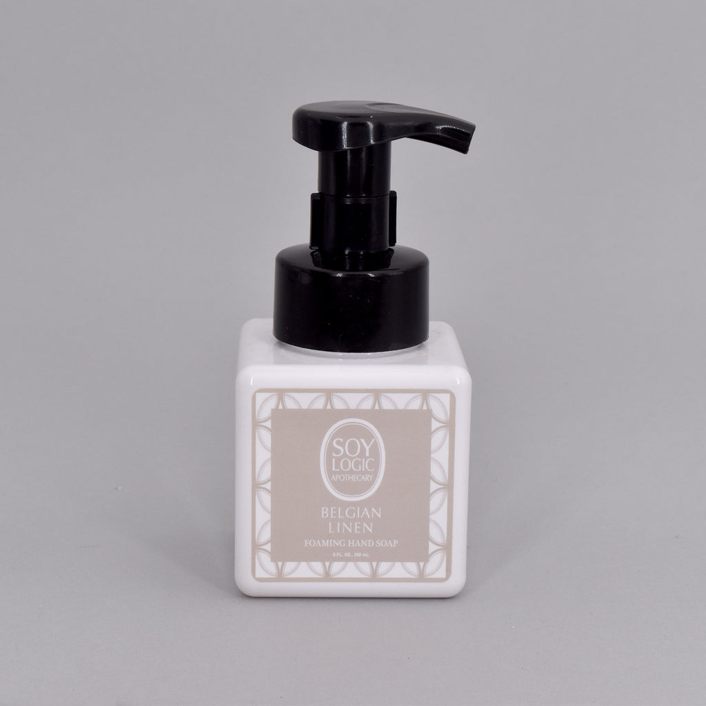 BELGIAN LINEN FOAMING HAND SOAP
