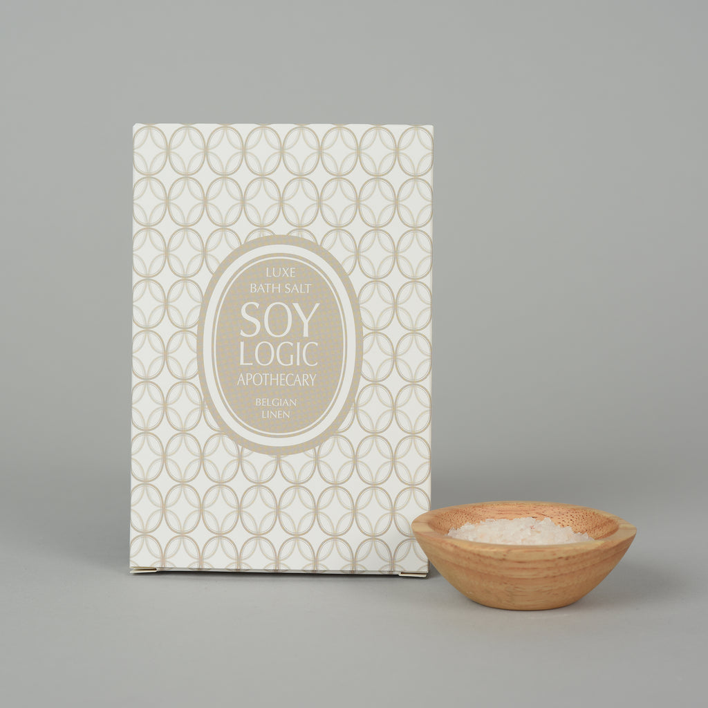 BELGIAN LINEN BATH SALT ENVELOPE