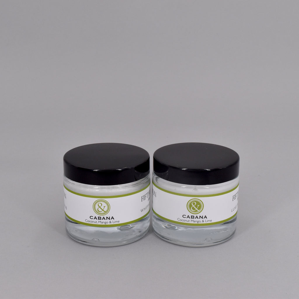CABANA MINI BODY BUTTER + SUGAR SCRUB SET