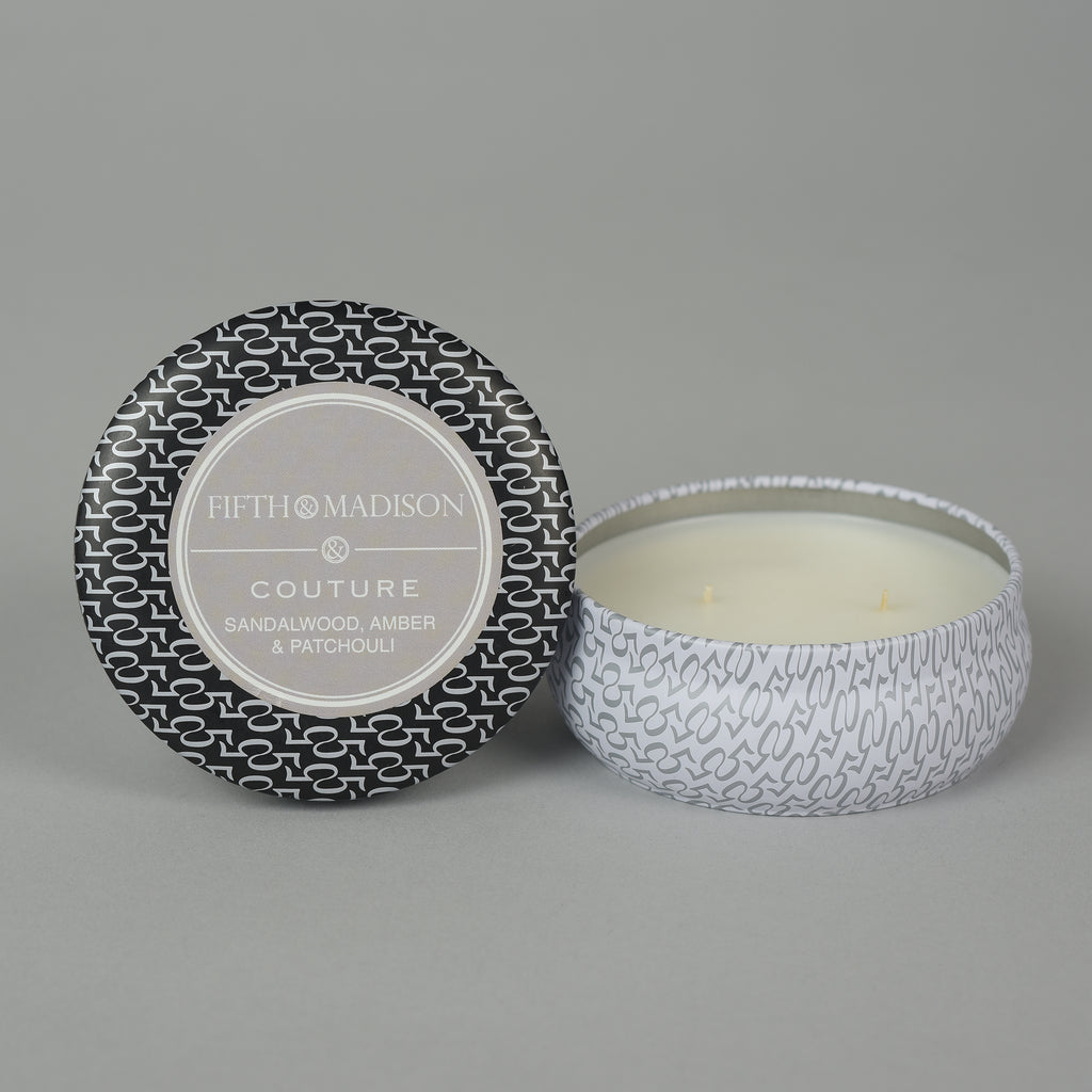 COUTURE TWO WICK TIN