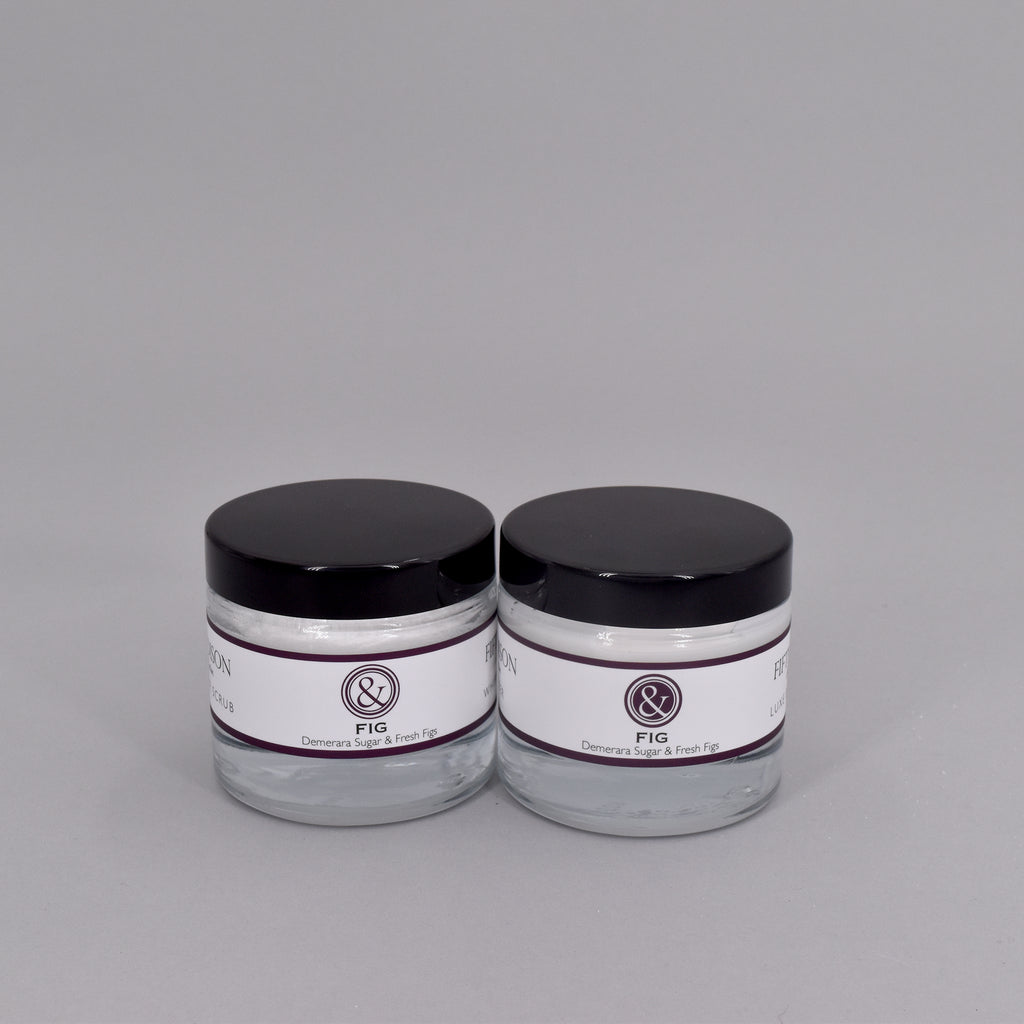 FIG MINI BODY BUTTER + SUGAR SCRUB SET