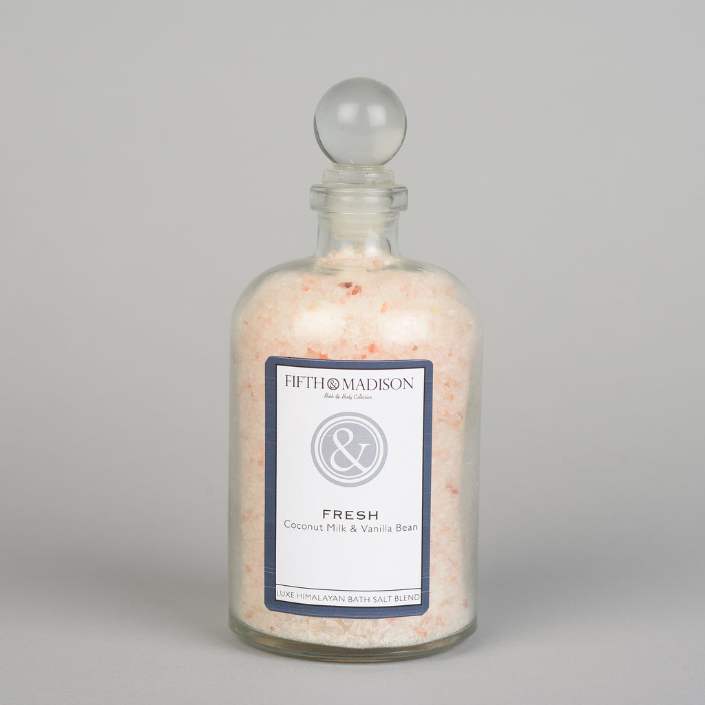 FRESH LUXE BATH SALT JAR