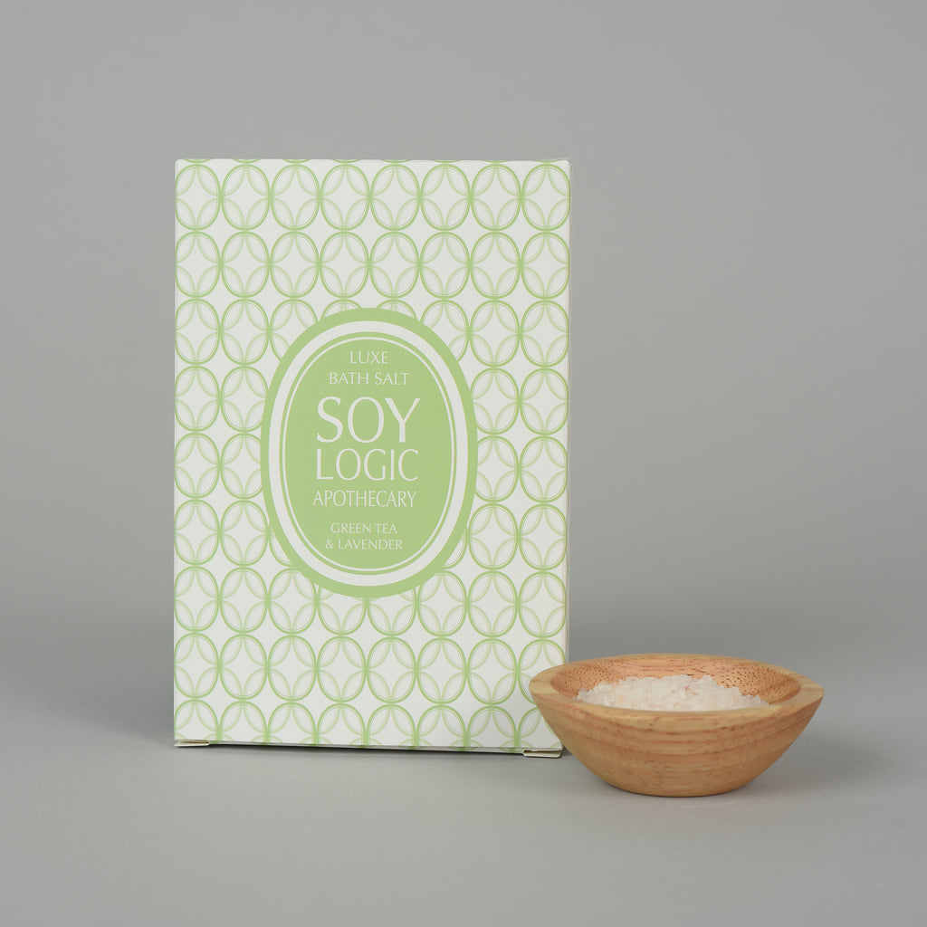 GREEN TEA & LAVENDER BATH SALT ENVELOPE