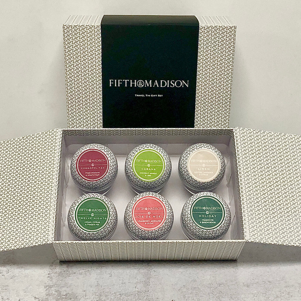 5th & MADISON TRAVEL TIN GIFT SET