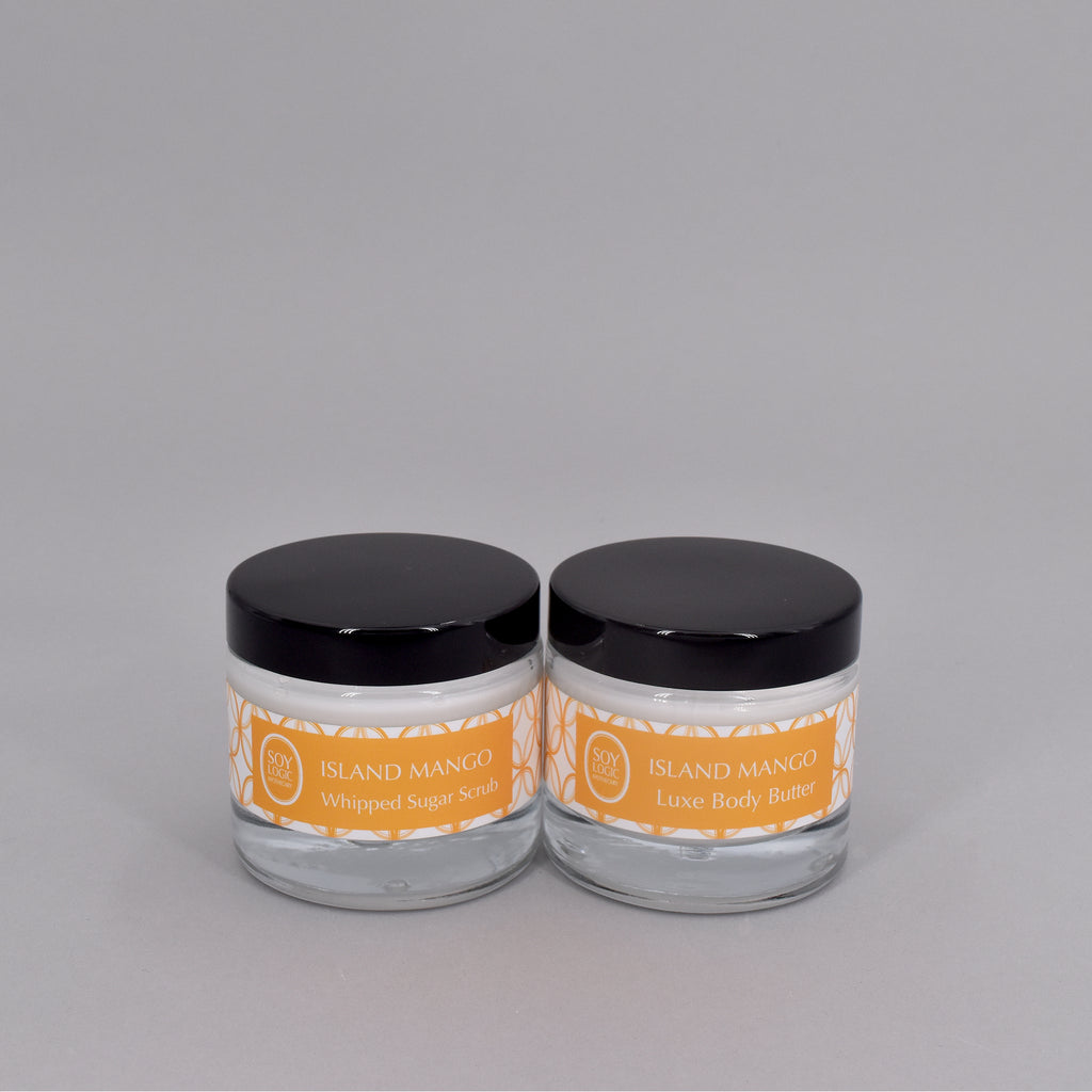 ISLAND MANGO MINI BODY BUTTER + SUGAR SCRUB SET