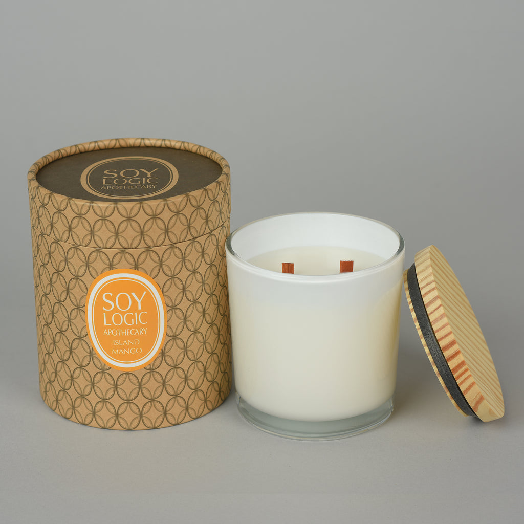 ISLAND MANGO DOUBLE WOOD WICK
