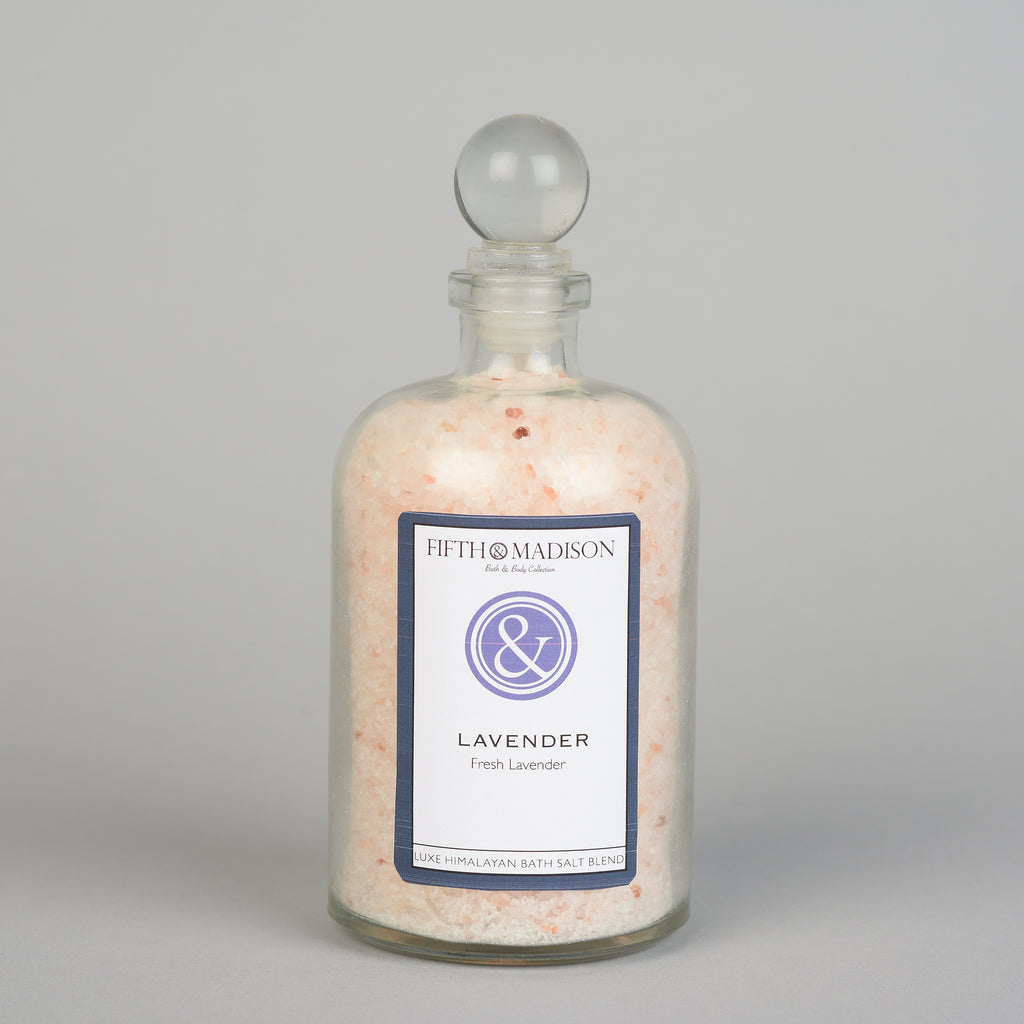 Lavender Luxe Jar Bath Salts
