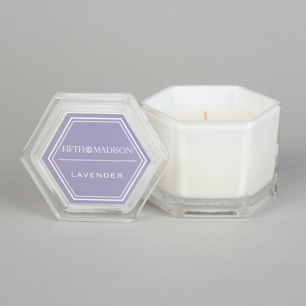 LAVENDER HEXAGON