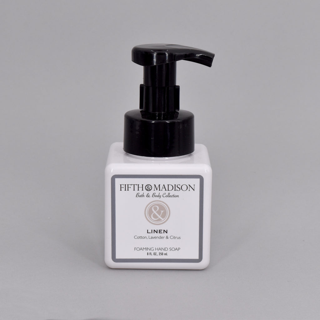 LINEN FOAMING HAND SOAP