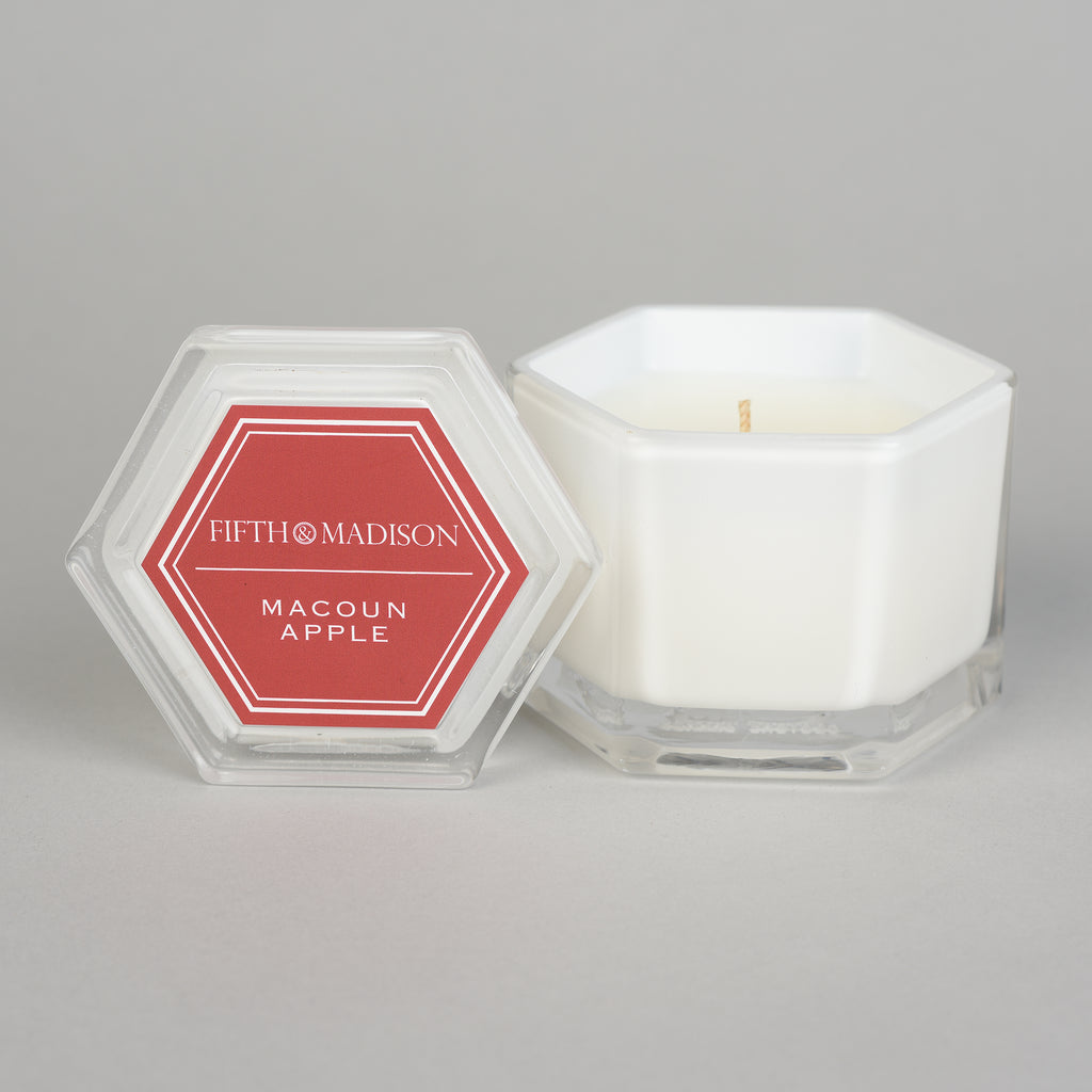 MACOUN APPLE MURRAY HILL HEX CANDLE