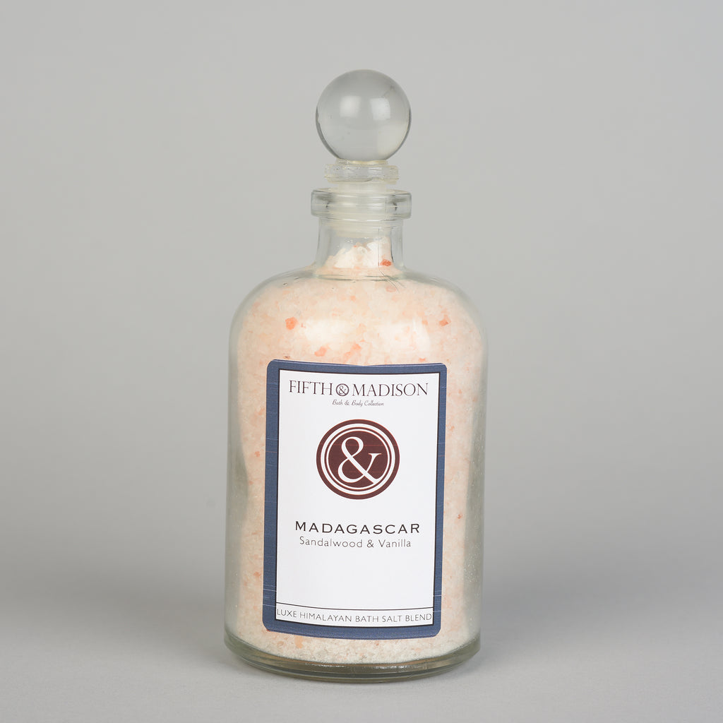 Madagascar Luxe Jar Bath Salts