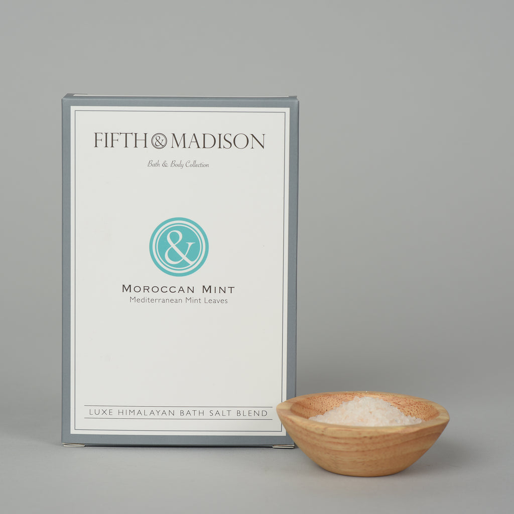 Moroccan Mint Luxe Bath Salt Envelopes